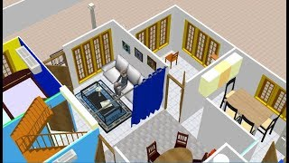 3d Home Design Of Kerala Style Beautifull Home