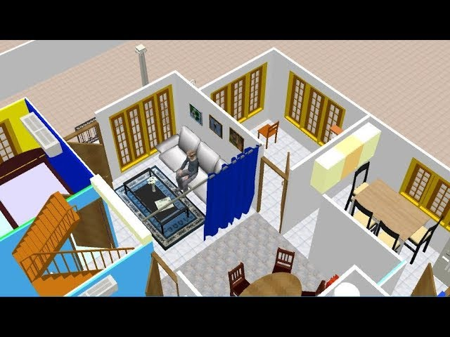 3D Home Design of Kerala style beautifull home