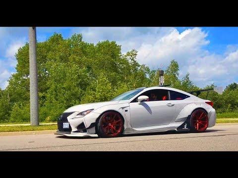 Worlds NASTIEST Sounding Lexus RC F - Rocket Bunny