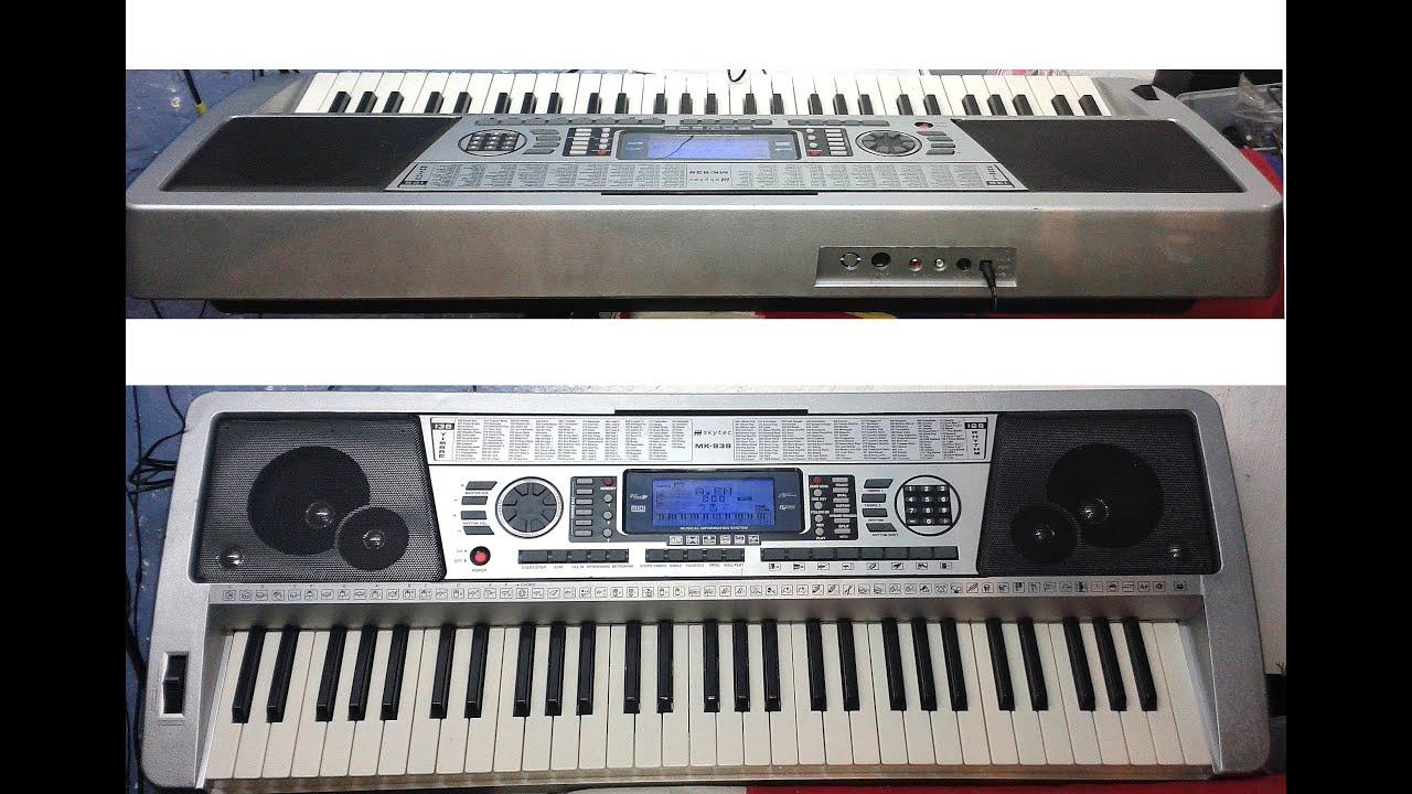 Синтезатор мк 939 инструкция скачать бесплатно