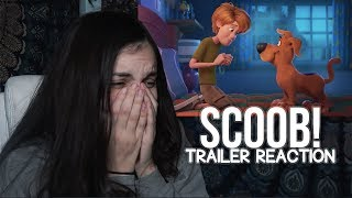 SCOOB! official teaser trailer REACTION!!