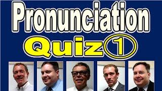 Pronunciation Quiz (1) [ ForB English Lesson ]
