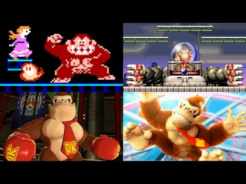 Evolution of Donkey Kong Battles