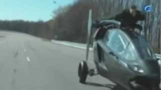 Fabrican con éxito un coche volador PAL-V