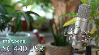 the t bone SC 440 USB im Test - Ein unauffälliges Update - 2021 wieder eine Empfehlung?