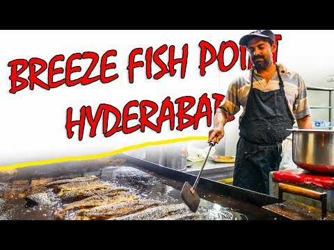BREEZE FISH POINT | The Craziest FOOD In HYDERABAD