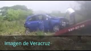 Vuelca Auto En Libramiento Paso Del Toro Santa Fe