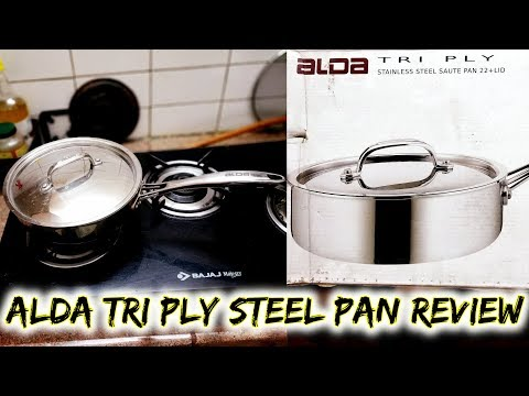 Alda Tri Ply Stainless Steel Pan Review