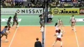 Cuba vs China Final Mundial voleibol femenino 1998