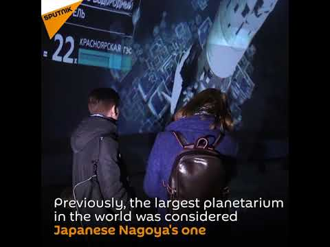 World's Largest Planetarium Opened in St. Petersburg