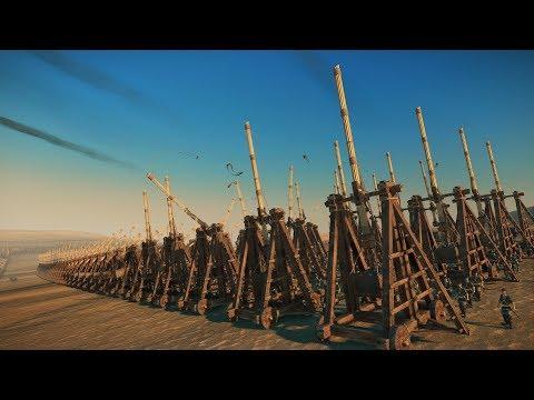 3000 TREBUCHETS vs 17000 PROTECTORS OF HEAVEN - Total War: THREE KINGDOMS |