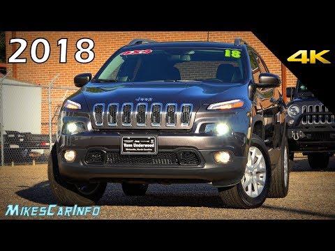 2018 Jeep Cherokee Latitude Plus 4x4 - Ultimate In-Depth Look in 4K