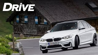 New BMW M3 @ Grossglockner by Drive Magazine (Eng subs)