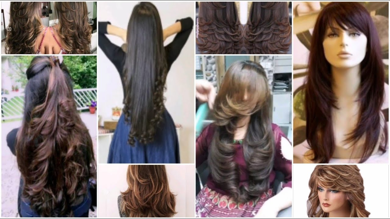 Long Hair Cutting Ideas Top 50 Layer Haircut Front And Back Layerss Youtube