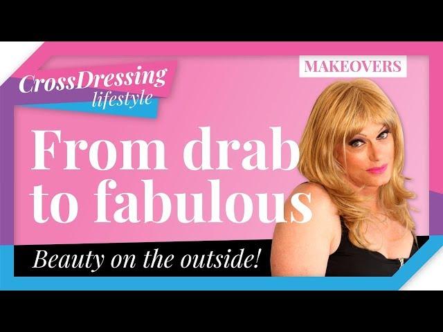 Crossdressing makeover   Male to Female