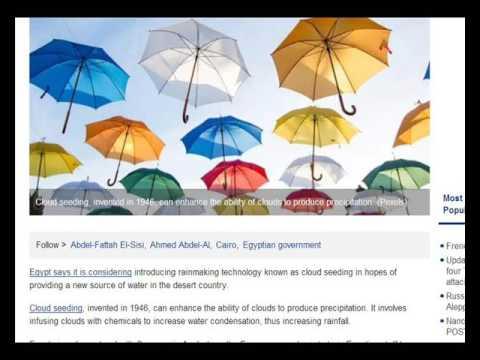 International Weather Wars - 26 August 2016 - Various Countries/Scientists/HAARP/Geo Engineering