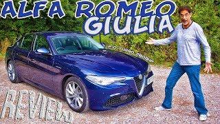 Alfa Romeo Giulia 2.0 Turbo Veloce Review - Mama-Mia!