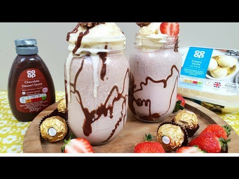 Ferrero Rocher Milk Shake | Ramadan Recipe | Indian Cooking Recipes | Cook with Anisa | AD