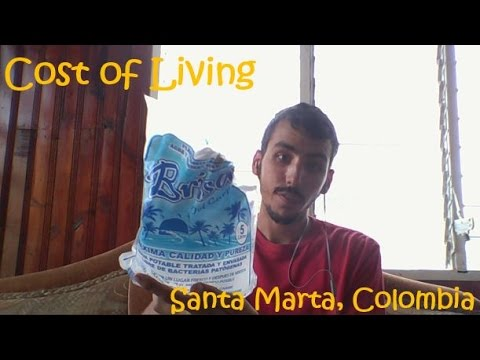 Cost of Living in Santa Marta, Colombia
