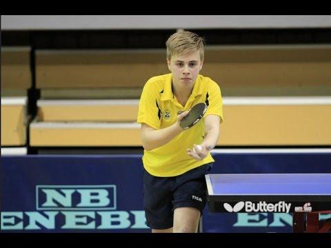 Vladimir Sidorenko vs Truls Moregard (2016 Europe Youth Top-10) Final