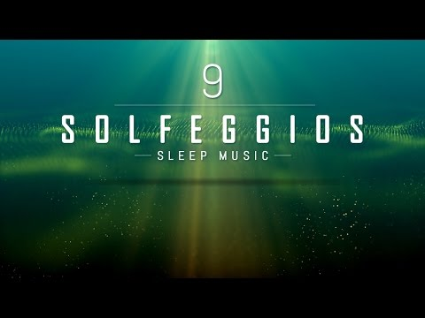 All 9 Solfeggio Frequencies | POWERFUL HEALING MIRACLE TONES | Sleep Meditation Music | 9 Hours
