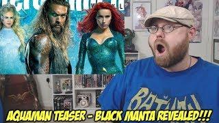 Aquaman Teaser - Black Manta Revealed!!!
