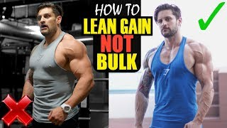 "One of Lex Fitness's most viewed videos: WHY ""BULKING"" DOESN'T WORK!! LEAN GAINING EXPLAINED 