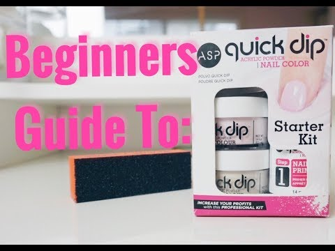 BEGINNERS GUIDE: ASP Dipping Powder Nails