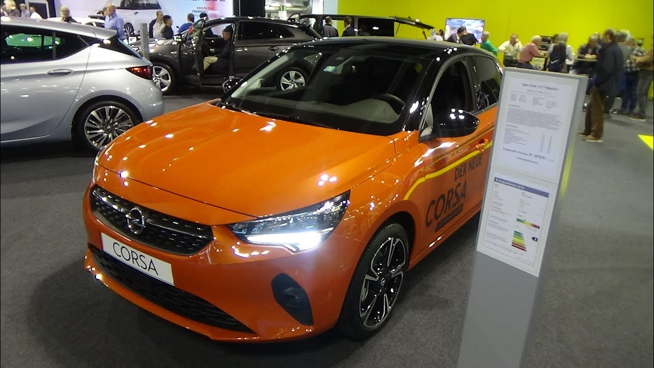 2020 Opel Corsa 1 2 T Elegance Exterior And Inteerior Auto Zurich Car Show 2019 Youtube