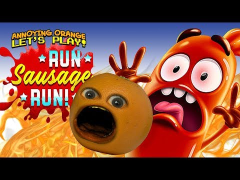 Run Sausage Run #1 [Annoying Orange]