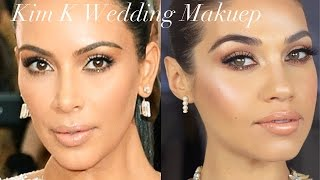 KIM KARDASHIAN INSPIRED WEDDING MAKEUP | Eman