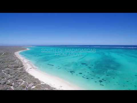 South of Madagascar from above 4K DJI DRONE