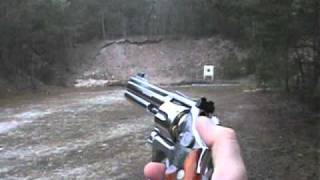 tir avec un Smith & Wesson 686 357 magnum