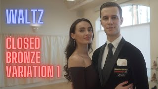 Waltz Basic Syllabus Closed Bronze Variation 1 by Iaroslav and Liliia Bieliei