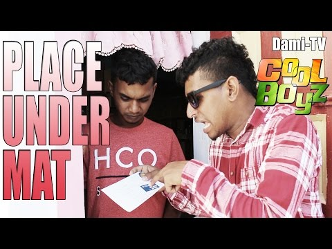 Place Under Mat --- CoolBoyzTV --- Guyanese Jokes