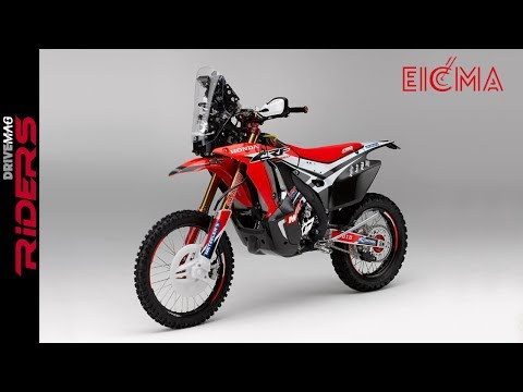 Honda CRFL Rally Concept | Walkaround