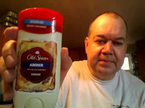 Old Spice Amber with Black Currant Deodorant Review