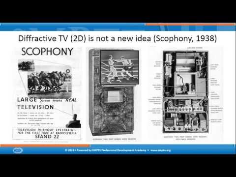 SMPTE Webcast: An Introduction to Holographic Television