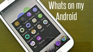 Whats on my Android - Action Launcher Review