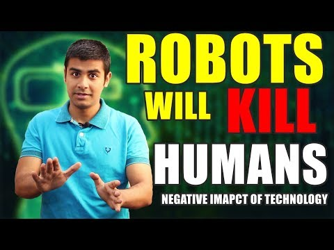 Facebook Developing Dangerous AI | Robots will Kill Humans ? | Negative Impacts Of Technology