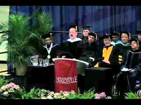 2011 Spring Commencement Address - Clinton Van Zandt - YouTube