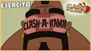 CLASH OF RAMA EN MI JUEGO Y MI EJERCITO - RETOS MIX #55 - Clash of Clans - Español - CoC