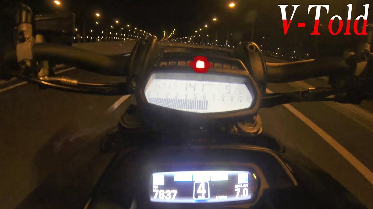 Ducati Diavel 0 200 Acceleration Top Speed Youtube