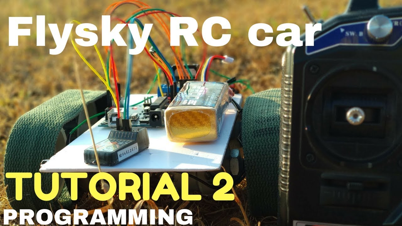 Flysky Controlled rc car using l298n motor driver | programming explained