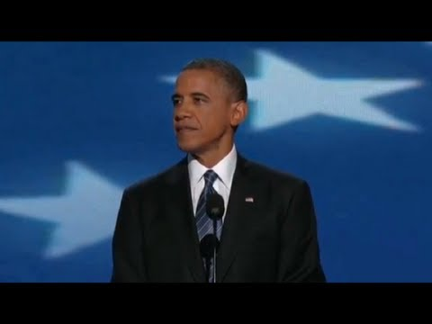 President Barack Obama's Remarks at the 2012 Democratic National Convention - Full Speech