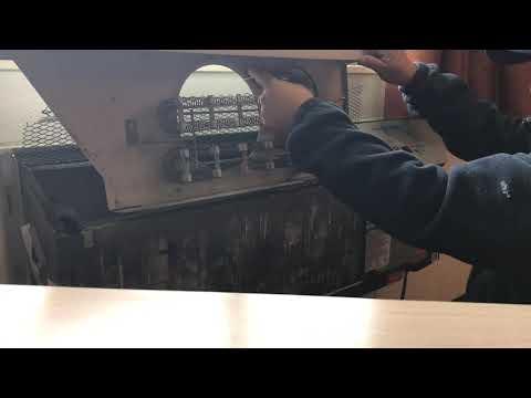 How to fix amana ptac  not heating only cold working