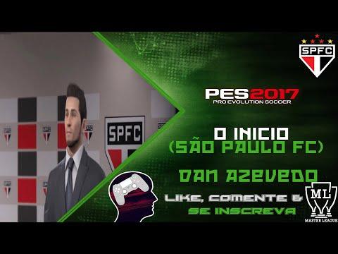 Pro Evolution Soccer 2017 Master League #1 - O Inicio (São Paulo FC)