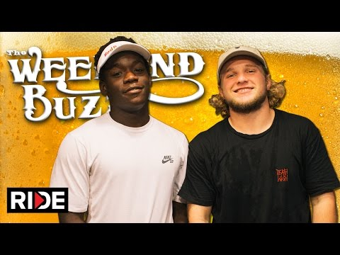 Jamie Foy & Zion Wright: Pizza Hut & Chipped Teeth! Weekend Buzz Season 3, ep. 115 pt. 1