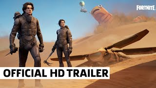 Fortnite X Dune Play As Paul Atreides & Chani