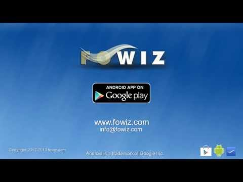 FOWiz - FREE Missed Call Service, SMS Integration API, Desktop SMS(Powered By Android)